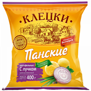 """Клецки """"ПАНСКИЕ"""" картоф.(с лучком)РБ400г"""