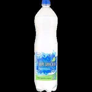 """Вода минеральная """"БЕРЕЗИНСКАЯ-4"""" РБ 1.5л"""