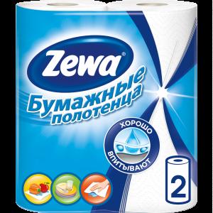 """Полотенца кухонные """"ЗЕВА""""(2рул) РФ"""