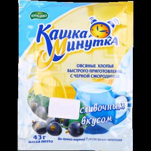 """Хлопья овсяные """"КАШКА-МИНУТКА""""ч.см.сл43г"""