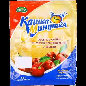 """Хлопья овсяные """"КАШКА-МИНУТКА""""(виш)37г"""
