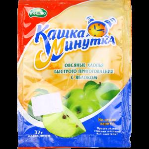"""Хлопья овсяные """"КАШКА-МИНУТКА""""(яблок)37г"""