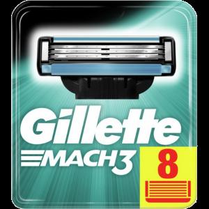 "Кассета д/ст.д/бр.""GILLETTE MACH 3""(8шт)"