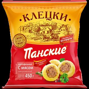 """Клецки """"ПАНСКИЕ"""" (карт.мясо)0.45кг"""