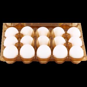 Яйца куриные пищевые С-1 фас 15 шт упак.