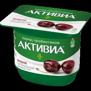 """Биойогурт """"АКТИВИА"""" стак (виш) 2"""