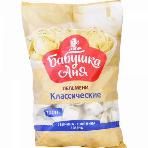 "Пельмени ""БАБУШКА АНЯ"" (класич) РБ 1кг"