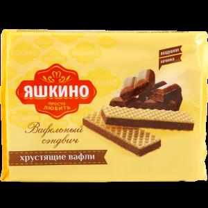 Вафли «ВАФЕЛЬНЫЙ СЭНДВИЧ» 180г