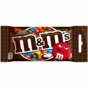 """Драже """"M&M"""" (с шоколадом) 45г"""
