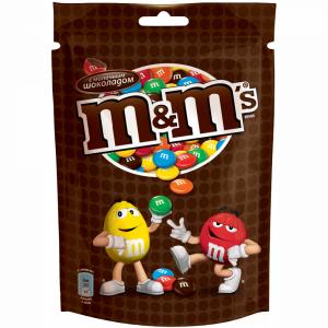 """Драже """"M&M"""" (с шоколадом) 130г"""