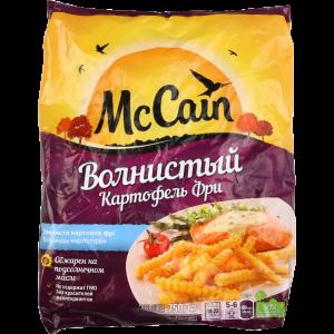 """Картофель """"MCcain"""" (волнистый) 750 г"""