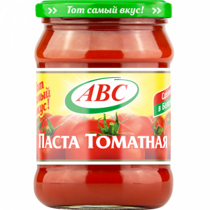 """Паста томатная """"АВС"""" (ст/б) 500 г"""