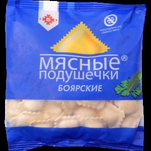 """Пельмени """"МЯСНЫЕ ПОДУШЕЧКИ"""" (бояр.) 430г"""