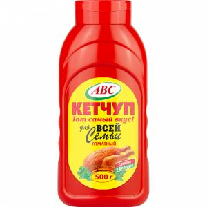 """Кетчуп """"ABC"""" д/всей семьи(томатный)"""