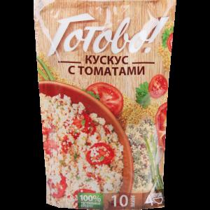 """Кускус с томатами """"ГОТОВО!"""" 250г"""