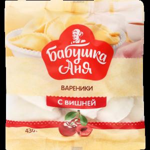 """Вареники """"БАБУШКА АНЯ"""" (вишня) 430г"""