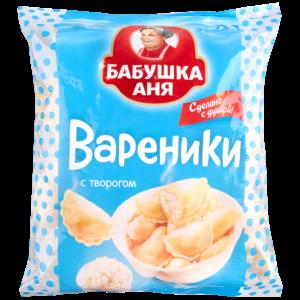 """Вареники """"БАБУШКА АНЯ"""" (творог) 430г"""