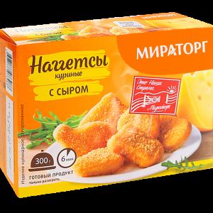 """Наггетсы """"МИРАТОРГ"""" кур.с сыром 300г"""