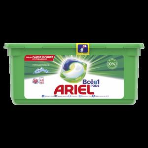 """Гель """"ARIEL""""(автом.горн.родник)30*28.8г"""