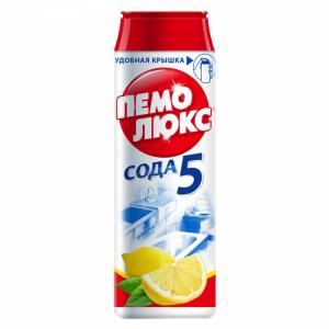 """Чист.порошок """"ПЕМОЛЮКС"""" (лимон) 480г"""