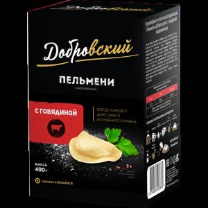 """Пельмени""""ДОБРОВСКИЙ""""(с говядиной)РБ"""