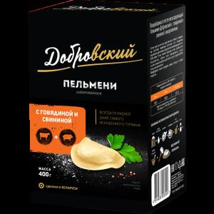 """Пельмени""""ДОБРОВСКИЙ""""(говяд/свин)РБ"""