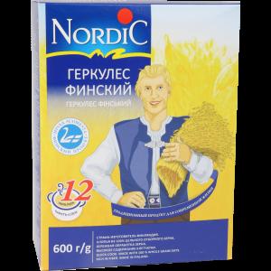 """Хлопья """"НОРДИК""""(геркулес финский) 600г"""