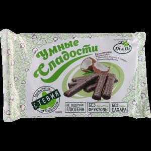 """Батончик""""УМНЫЕ СЛАДОСТИ""""кокос.гл"""