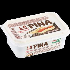 """Паста арахисовая""""LA PINA""""с шоколад.220гр"""