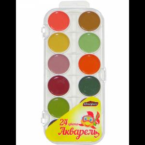 Акварель (24 цвета