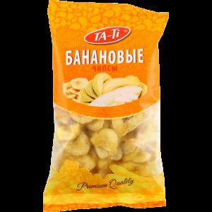 Банановые чипсы 100гр.