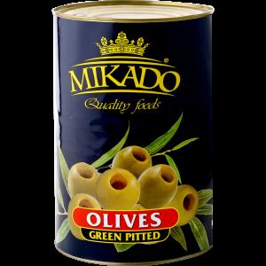"""Оливки зеленые """"Микадо"""" без/к 4100г"""
