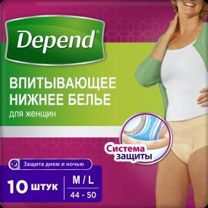 """Трусы-подг.""""DEPEND"""" (д/Женщин"""