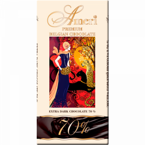 """Шоколад горький """"АМЕРИ"""" (какао 70%) 100г"""
