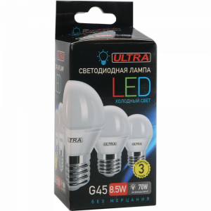 Лампа светодиод. LED G45 8