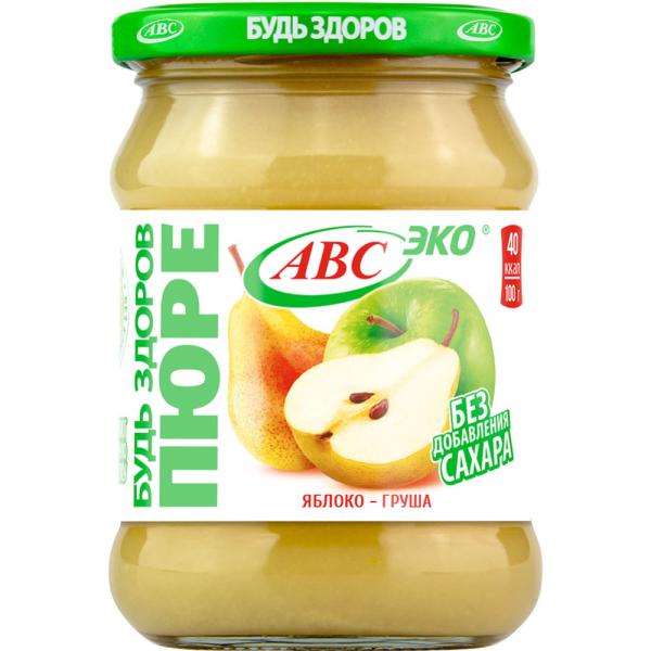Пюре фрукт. (Яблоко/груша) 450г