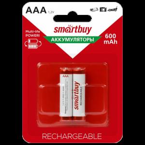 "Аккумулятор ""Smartbuy"" AAA/2BL 600mAh"