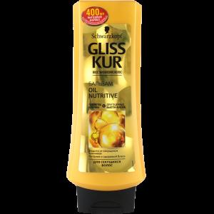 "Бальзам д/в""GLISS KUR""(Oil Nutrit.)400мл"
