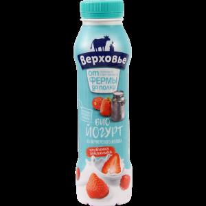 """Биойогурт """"ВЕРХОВЬЕ""""(2%клуб/зем"""