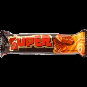 """Батончик""""SUPER""""(с нугой и карамелью)40г"""