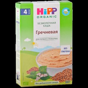 """Каша""""HIPP"""" (б/мол гречневая) 200г"""