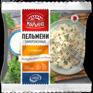 """Пельмени""""МАРЬИНО""""(П/ф с курицей)400г"""