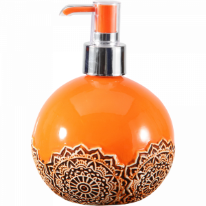 Дозатор для мыла (Арт.KM1403) оранж