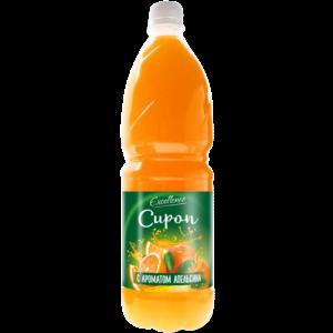 Сироп с апельсиновым ароматом 1л