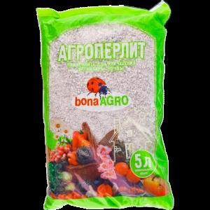 """Агроперлит природный сорбент""""BONAAGRO""""5л"""