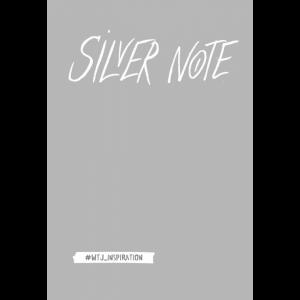 "Блокнот""SILVER NOTE""(с серебряными стр.)"