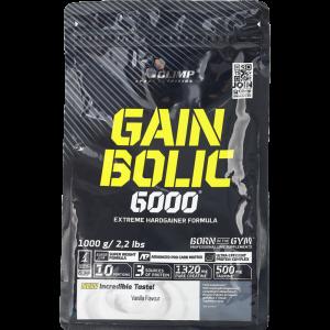 "Гейнер""GAIN BOLIC 6000""(ваниль) 1кг"