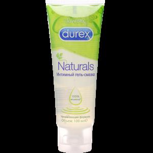 """Гель-смазка """"DUREX"""" (Naturals)100 мл"""