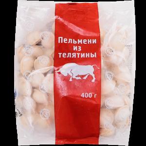 """Пельмени """"ИЗ ТЕЛЯТИНЫ"""" 400г"""