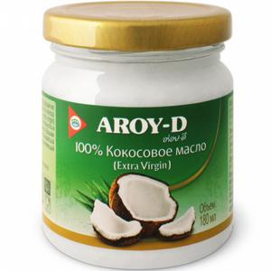 "Кокосовое масло ""AROY-D"" (ст/б) 180мл"